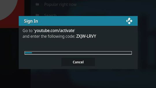ввести youtube com activate